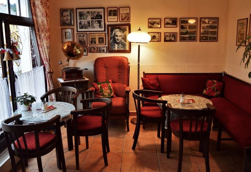 Kavárna u Ježka